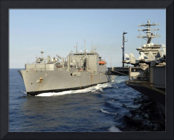 Dry cargo and ammunition ship USNS Wally Schirra