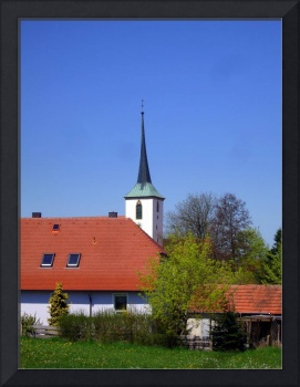 Vilseck Church Steeple