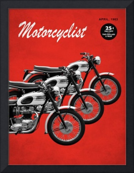 Motorcycle Magazine T120 Bonneville 1963