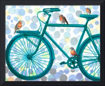 Birds And Bikes Collection III for Baby Room