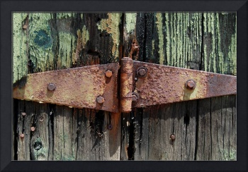 Weathered Hinge