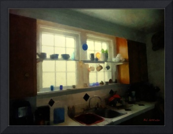 Summer Light in the Kitchen