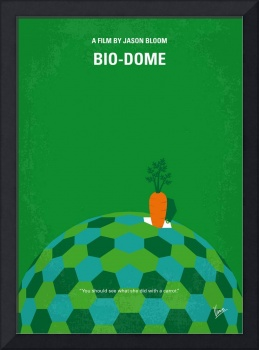 No1116 My Bio-Dome minimal movie poster