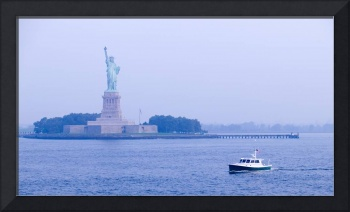 Statue of Liberty & New York Harbor