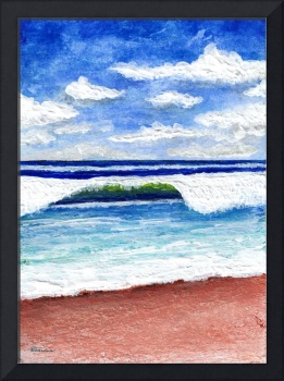 Seascape Painting Treasure Coast Florida D1