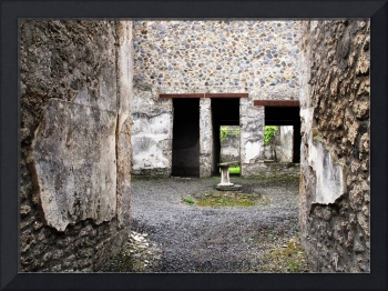 Pompeii - Courtyard of a Brothel