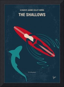 No836 My The Shallows minimal movie poster