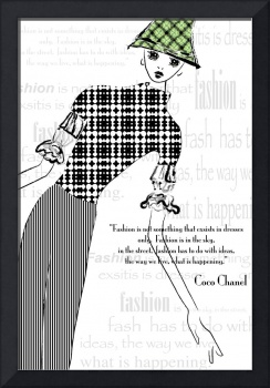 Illustration...Inspired by Chanel
