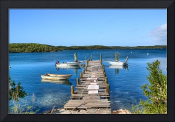 Hatchet Bay Dock