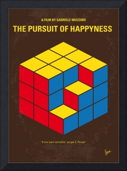 No775 My The Pursuit of Happyness minimal movie po