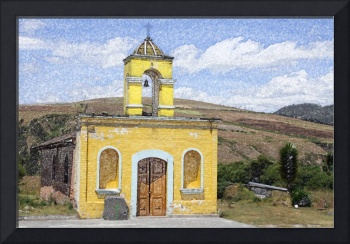 Stone Church near Cotacachi