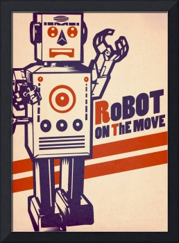 Robot on the move