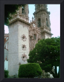 Taxco Cathedral Facing Zocalo