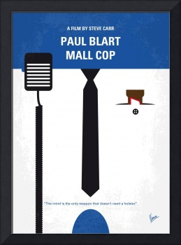 No579 My Paul Blart Mall Cop minimal movie poster