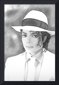 Michael Jackson in Pen and Ink