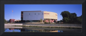Museum at the riverside