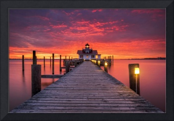 North Carolina Outer Banks Manteo Lighthouse OBX N