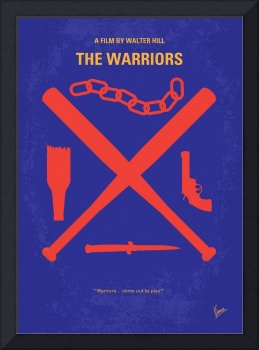 No403 My The Warriors minimal movie poster