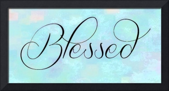 blessed special lt blue texture