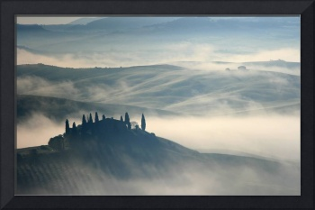 Tuscan Morning Fog