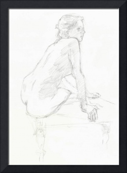 Nude on low table