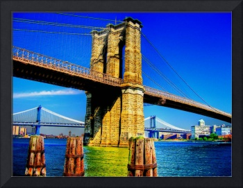 Brooklyn Bridge & the Manhattan Bridge