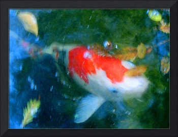 Abstract Koi Fish 3