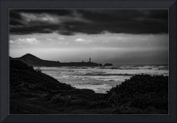 Yaquina Head Lighthouse looking south