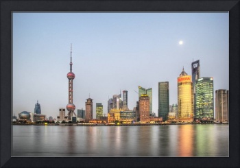 Shanghai in the evening