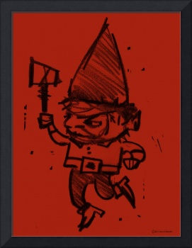 Gnome Jonathon -red