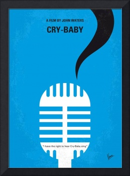 No505 My Cry-Baby minimal movie poster
