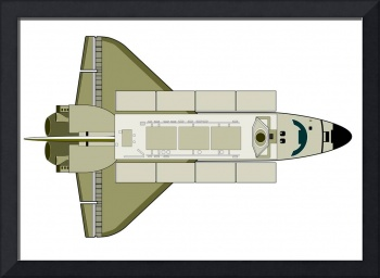 Space Shuttle Aircraft Retro