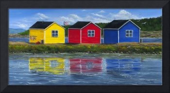 Newfoundland Fishing Shacks