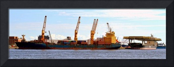 Shipping and Cranes in Baltimore, Maryland