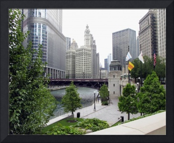 Chicago - Chicago River and Walkway