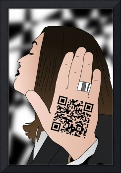 Talk to the hand cause the QR code understand