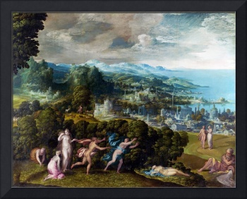 Niccolo dell'Abate - The Death of Eurydice