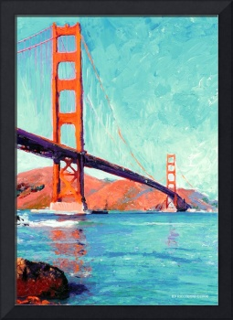 Golden Gate Bridge San Francisco by Riccoboni
