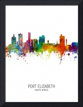 Port Elizabeth South Africa Skyline