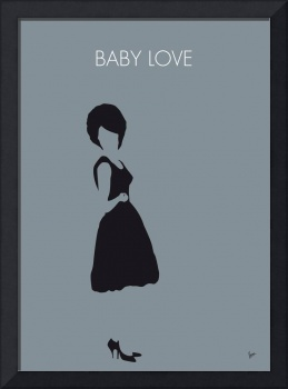 No057 MY DIANA ROSS Minimal Music poster