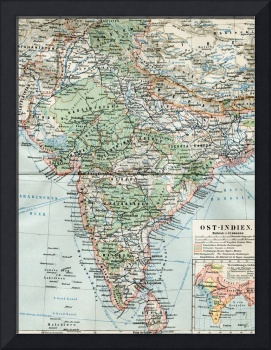 1896 INDIA CEYLON SRI LANKA NEPAL TIBET BHUTAN HIM
