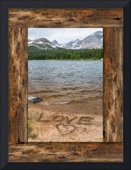 Colorado Love Window