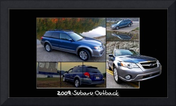 2009 Subaru Outback Collage