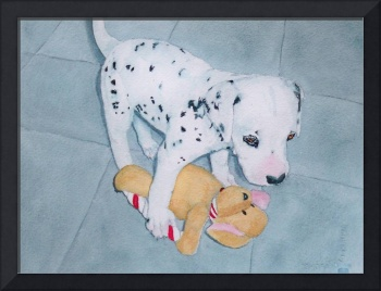 Roxie the Dalmatian Pup