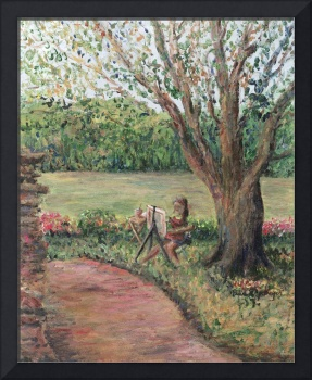 YOung Artist in the Park