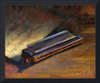 Harmonica With Sheet Music
