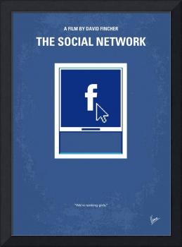 No779 My The Social Network minimal movie poster