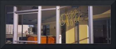 Office of a motel