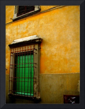 Green Shutters of Florence