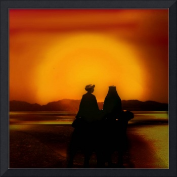 Saharan Sunset Romance